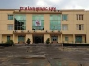 Đại tu máy nén khí, đầu nén, nhà máy Xi Măng Quang Sơn